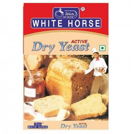 White Horse Dry Yeast Active   Box  20 grams