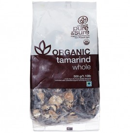 Pure & Sure Organic Tamarind Whole   Pack  250 grams